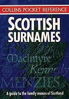 Scottish Surnames by David Dorward