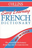NO AUTHOR: Collins Easy Learning French Dictionary: Colour Edition