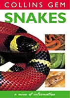 Collins Gem Snakes by Christopher Mattison