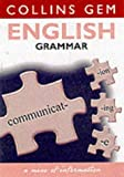 RONALD G. HARDIE: ENGLISH GRAMMAR (COLLINS GEM S.)