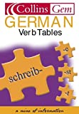 [???]: German Verb Tables