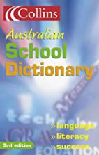 Collins Australian School Dictionary by…