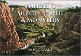 Howe, John: Tolkien&#39;s Middle Earth and Monsters Postcards