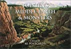 Tolkien's Middle-Earth and Monsters Postcard…