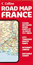 France Road Map by Collins (Road Map) by…