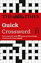 The Times T2 Crossword Book 11: Bk. 11 by…