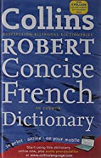 Collins Concise French Dictionary by Collins