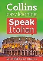 Collins Speak Italian by Collins UK