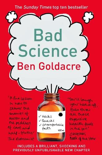 Cover of Bad Science by Ben Goldacre