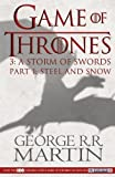 George R. R. Martin: Game of Thrones/Storm of Swords 1 TV Tie (Song of Ice & Fire)