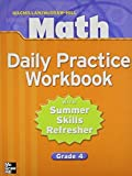 Macmillan: Math Daily Practice: With Summer Refresher Grade 4