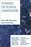 Barnum, Carol M.: Techniques for Technical Communicators