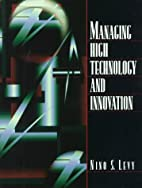 Managing High Technology and Innovation by…