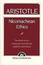 Nicomachean ethics by Aristotle,