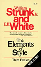 The Elements of Style (with Index) by Jr.…