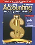 Glencoe Accounting: Advanced Course, Working…