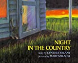 Rylant, Cynthia: Night in the Country