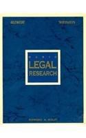 Basic Legal Research (Legal Studies Series)…