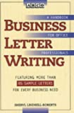 Lindsell-Roberts, Sheryl: Arco Business Letter Writing