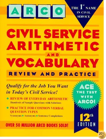 TCivil Service Arithmetic and Vocabulary (12th ed)