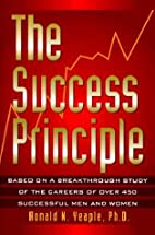 The Success Principle by Ronald N. Yeaple