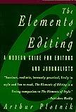 Arthur Plotnik: The Elements of Editing