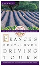 Frommer's France's Best-Loved Driving Tours…