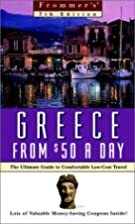 Frommers Greece from $50 a Day (7th Ed.) by…