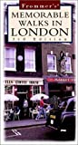 Jones, Richard: Frommer's Memorable Walks in London