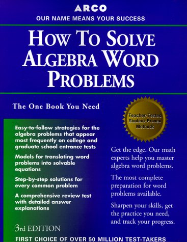 how-to-solve-algebra-word-problems-study-aids-on-the-job-reference
