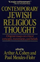 Contemporary Jewish Religious Thought by…