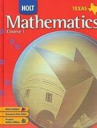 Mathematics Course 1 by Jennie M. Bennett
