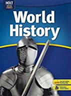 World History For Grade 6 by Burstein Shek…