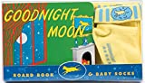 Brown, Margaret Wise: Goodnight Moon Board Book & Baby Socks