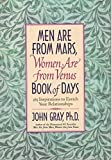 Gray, John: Men Are from Mars, Women Are from Venus Book of Days: 365 Inspirations to Enrich Your Relationships