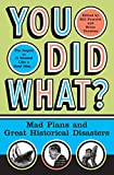 Fawcett, Bill: You Did What?: Mad Plans and Great Historical Disasters