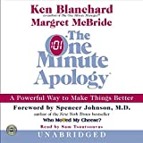 Blanchard, Ken: The One Minute Apology  CD: The One Minute Apology CD