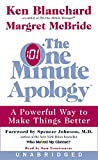 Blanchard, Ken: The One Minute Apology