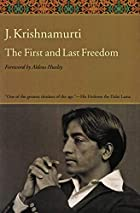First and Last Freedom, The by Jiddu…