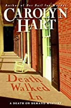 Death walked in : a death on demand mystery…