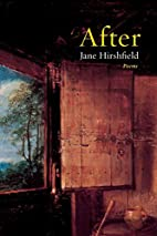 After: Poems by Jane Hirshfield
