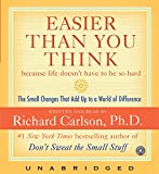 Carlson, Richard: Easier Than You Think CD
