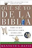 Davis, Kenneth C.: Que Se Yo de la Biblia: Todo lo Que Necesitas Saber Acerca del Libro Sagrado (Spanish Edition)