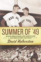 Summer of '49 by David Halberstam