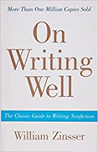 On Writing Well : the classic guide to…