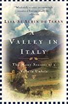 A Valley in Italy by Lisa St. Aubin De Teran