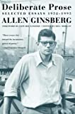 Ginsberg, Allen: Deliberate Prose: Selected Essays, 1952-1995