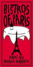 Bistros of Paris by Robert Hamburger