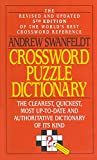 Swanfeldt, Andrew: Crossword Puzzle Dictionary