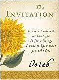 Oriah: Oriah